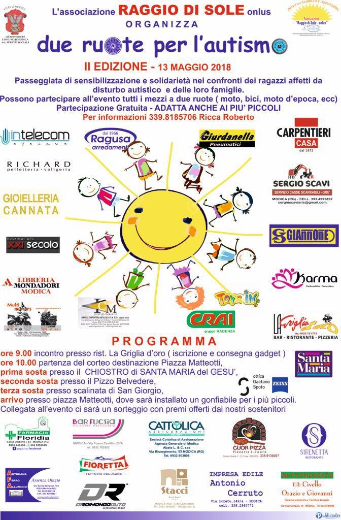 Due eventi in cui sarà presente il Vespa Club Avola